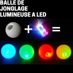 Balle de Jonglage Lumineuse a LED