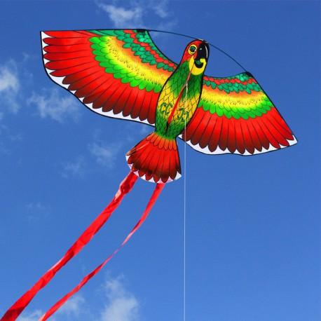 Cerf-Volant Perroquet Rouge