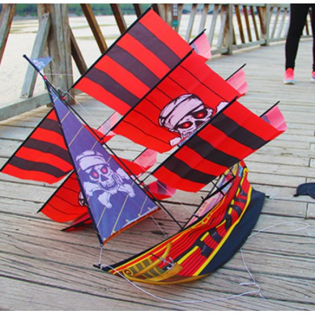 Cerf-Volant Bateau Pirate